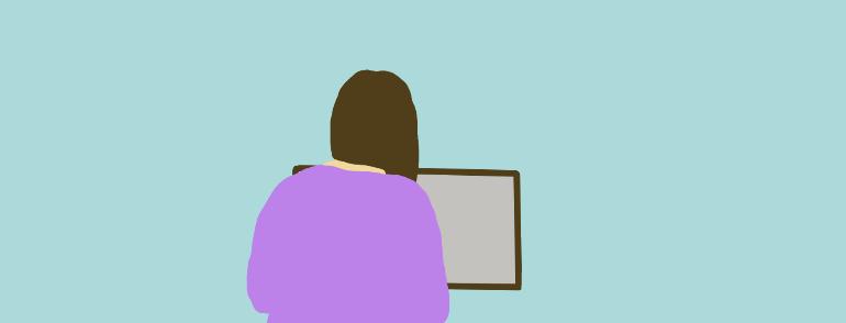 「お母さんのかわいいイラストを探しています」20代女性